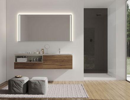 Beleuchtung Badezimmerspiegel badspiegel mit beleuchtung oder badspiegel beleuchtet