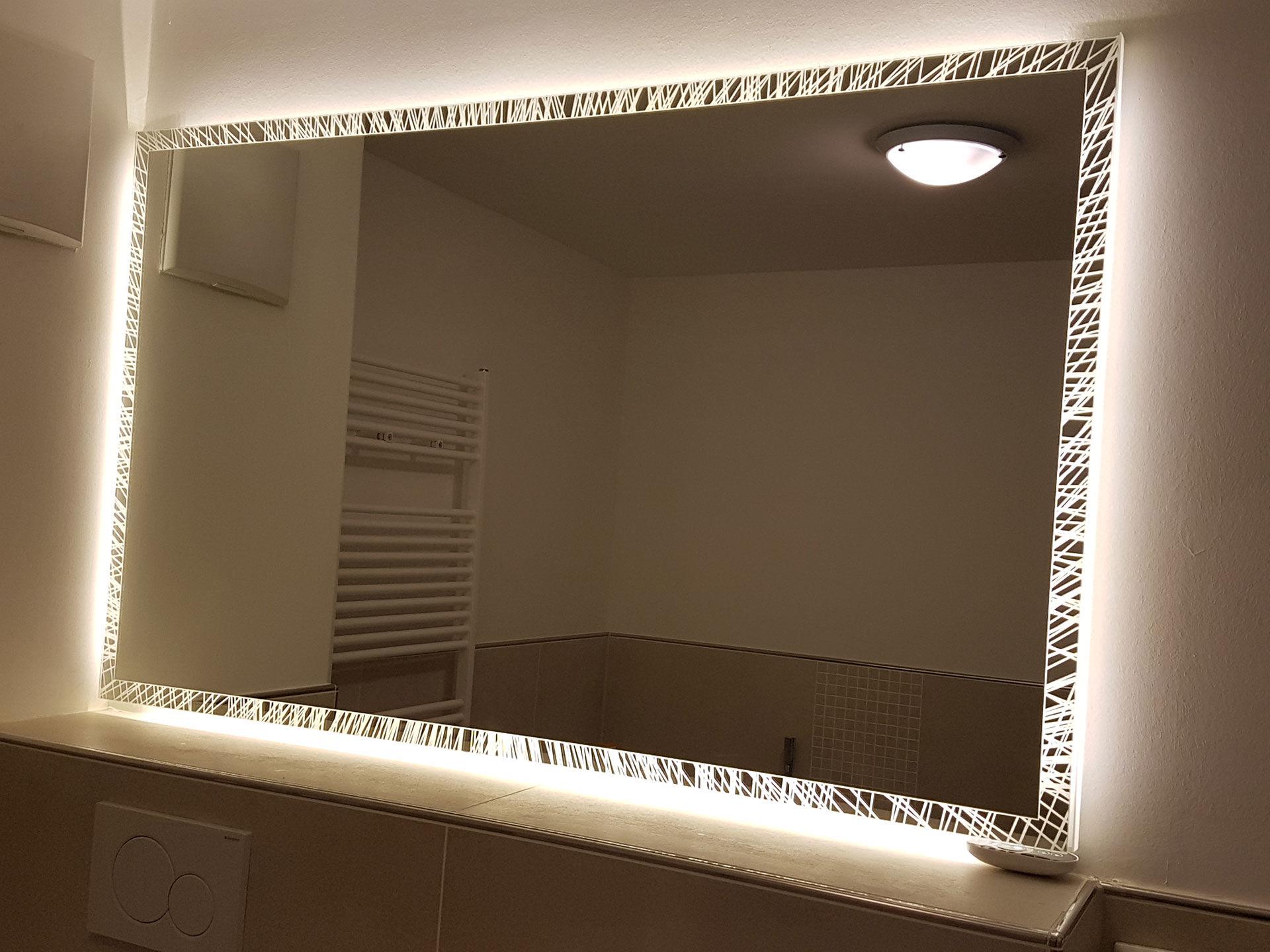 Badspiegel Albatros