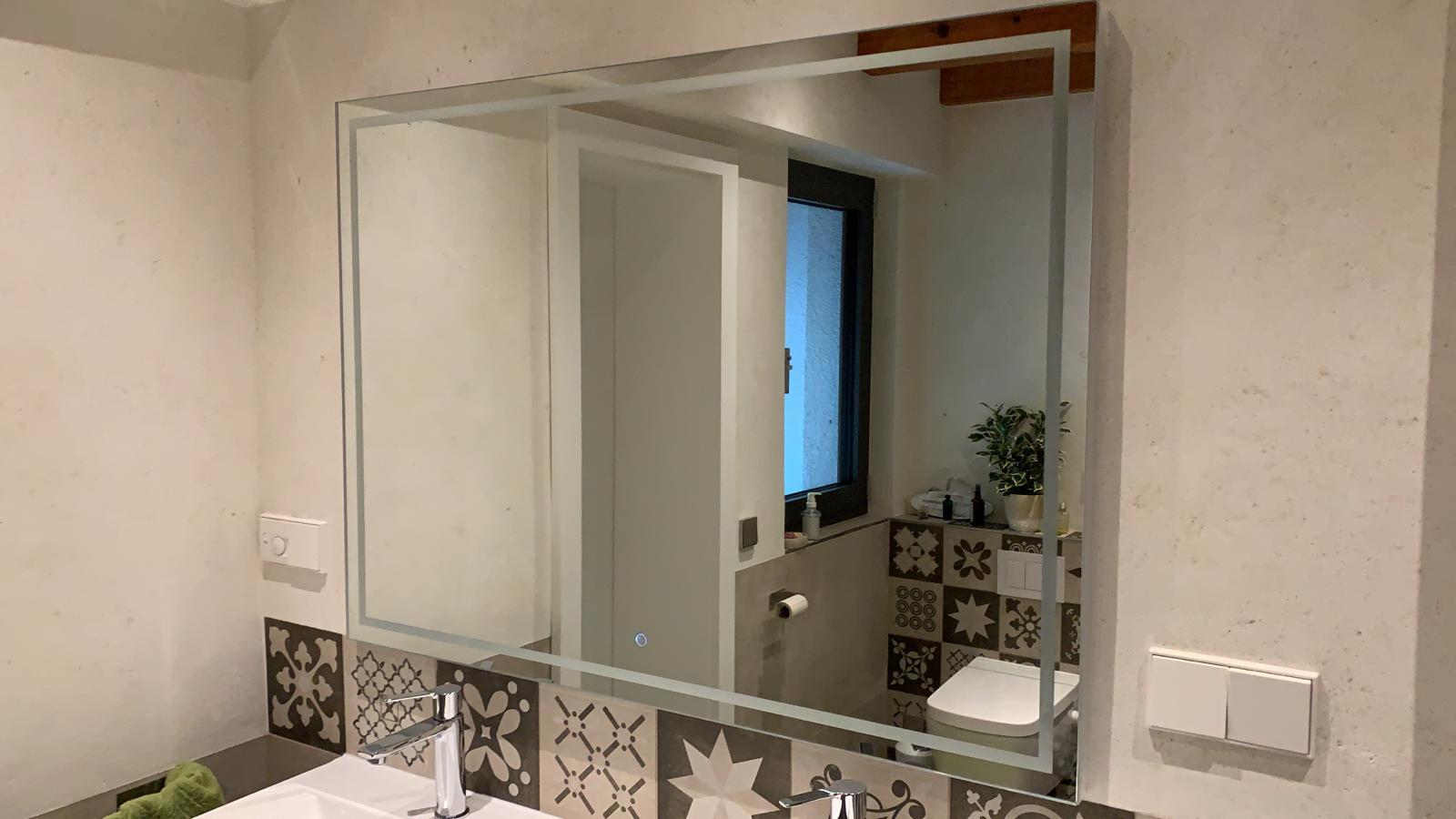 Badspiegel Aurora mit Optionen