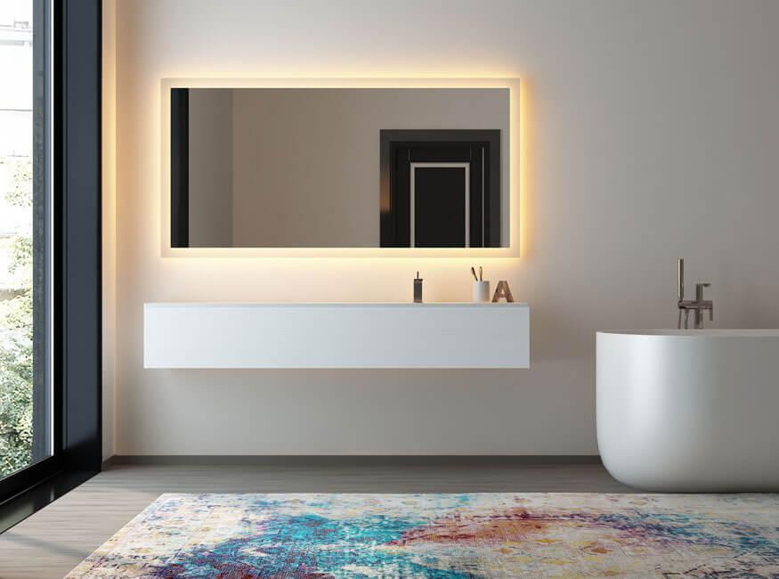 Spiegel - Badezimmerspiegel mit Beleuchtung kaufen