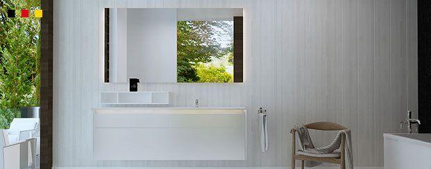 Led badspiegel badezimmerspiegel und spiegel nach ma kaufen - Beleuchtete badezimmerspiegel ...