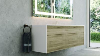 LED Badspiegel hinterleuchtet