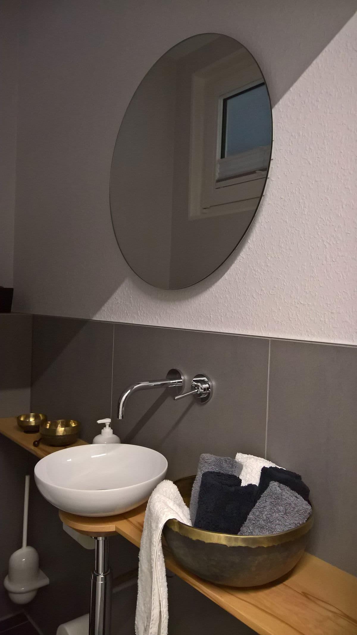 Runder Spiegel Saint Gobain Mit Einer Dicke Von 5mm