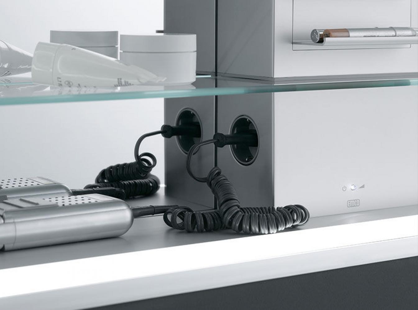 emco asis prestige lichtspiegelschrank ohne radio 120cm. Black Bedroom Furniture Sets. Home Design Ideas
