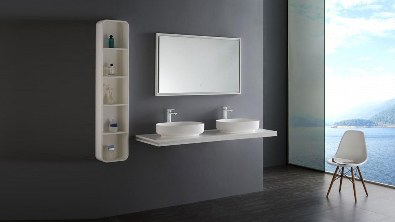 LED Lichtspiegel Badspiegel mit Lichteffekt