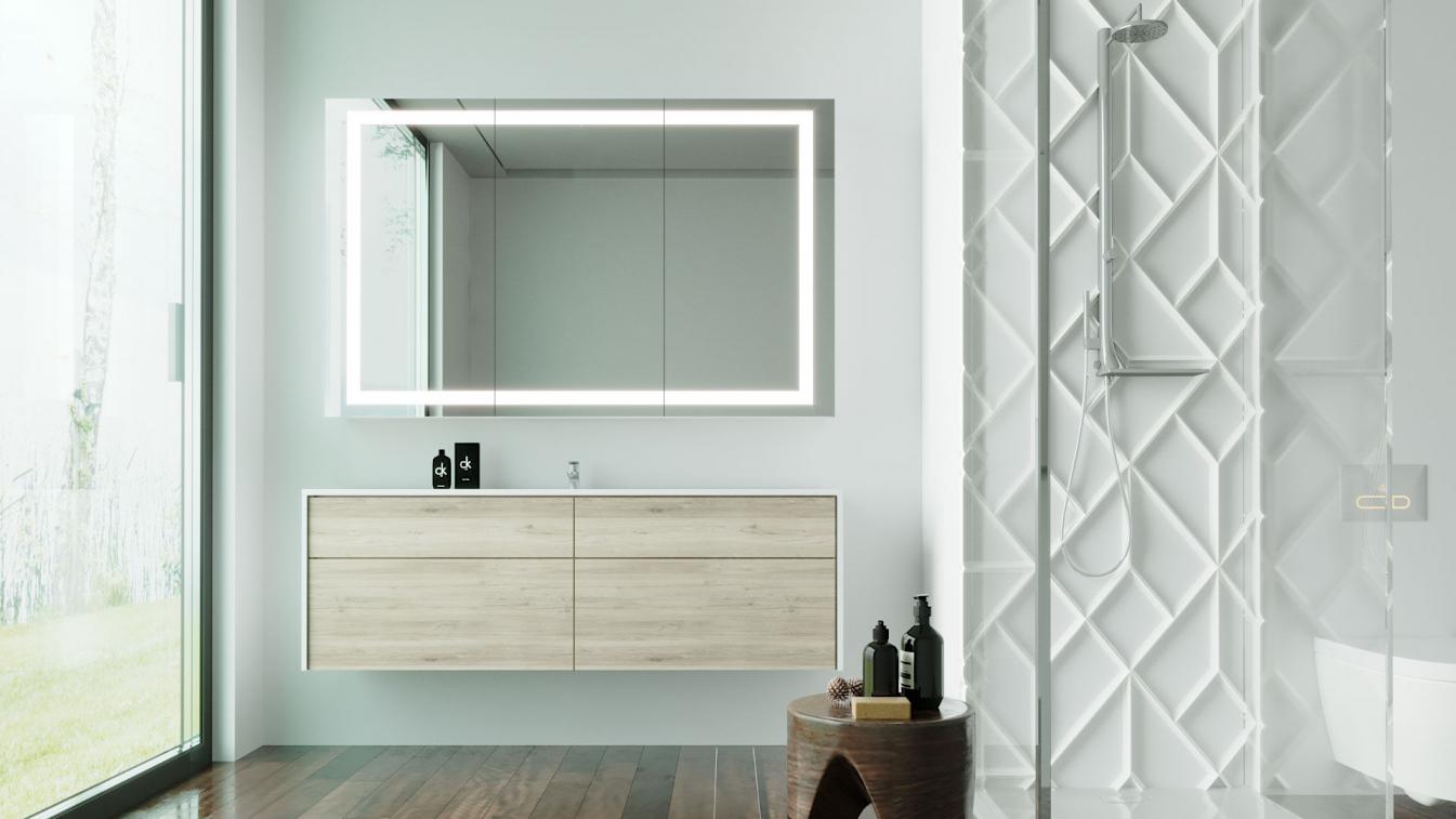 Badspiegelbeleuchtet BAD24