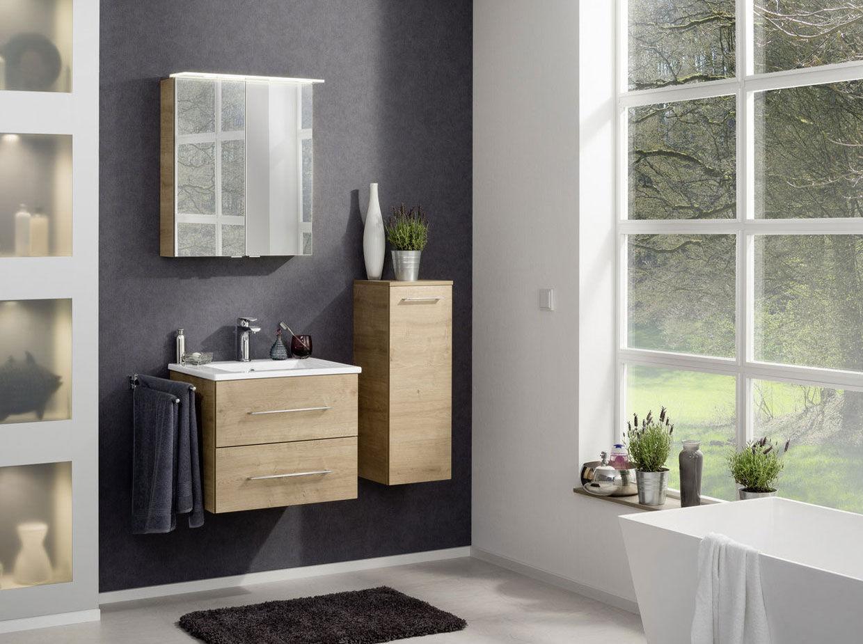 Fackelmann B.perfekt Badezimmer-Möbel komplett Set 4 Teilig