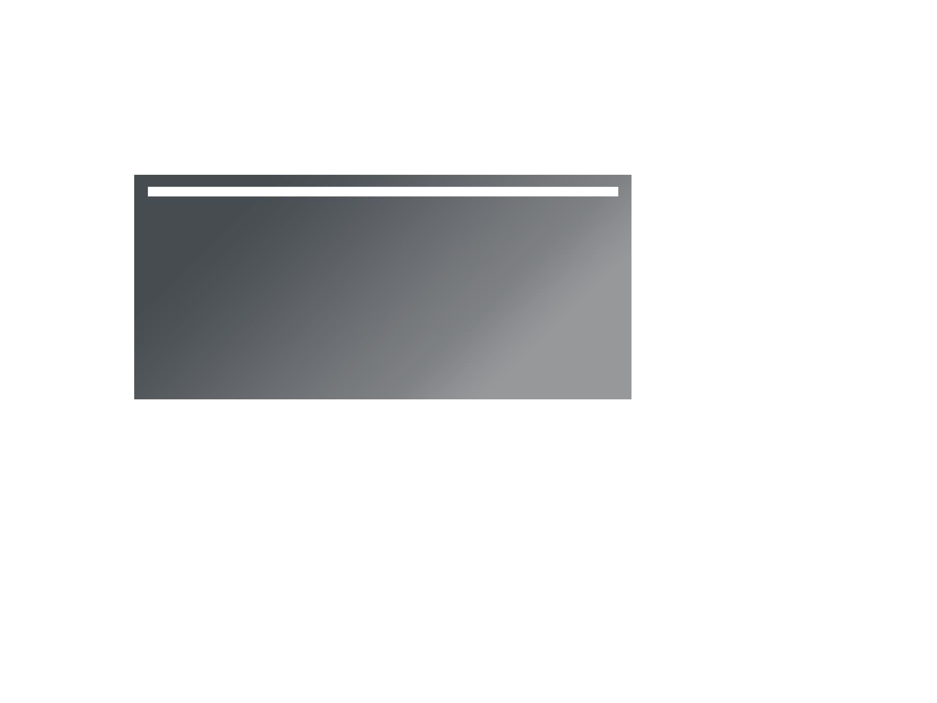 carla ist ein badspiegel mit beleuchtung oben. Black Bedroom Furniture Sets. Home Design Ideas