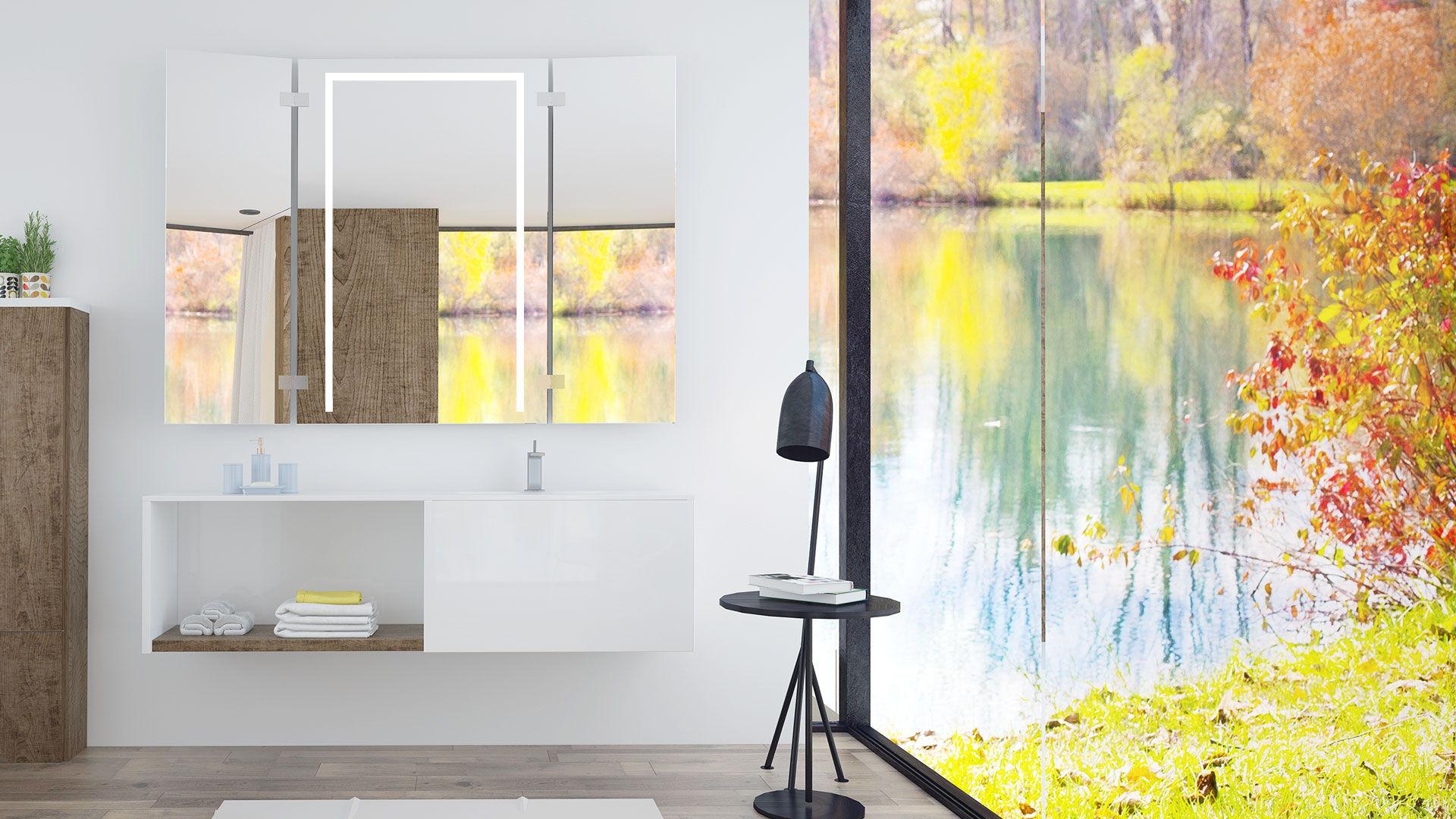 jasminas ist ein klappspiegel mit led beleuchtung  klappspiegel sind praktisch und schon #8
