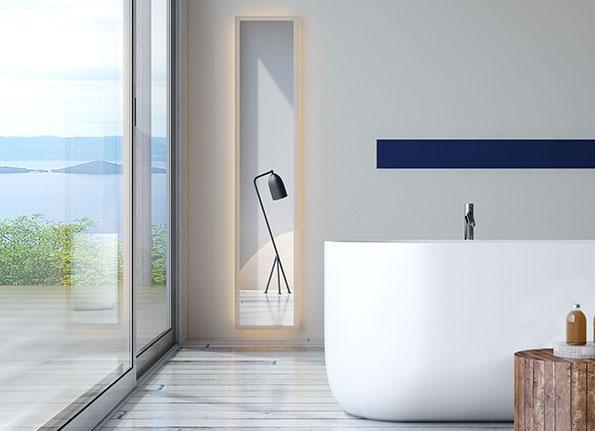 badspiegel mit licht günstig