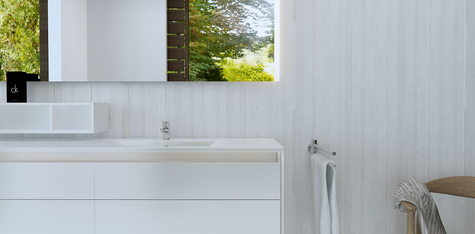 Badspiegel, Badezimmerspiegel ...