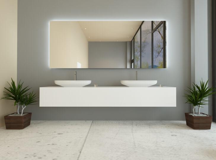 Badspiegel, Wandspiegel und Spiegel nach Maß jetzt kaufen