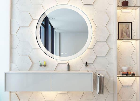 Badspiegel Badezimmerspiegel Mit Beleuchtung Online Kaufen